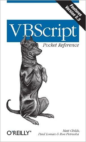 Vb Scripting Basics Ebook Download