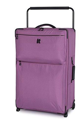 "Price comparison product image it luggage World's Lightest Los Angeles 32.4"",  Purple 2 Tone"