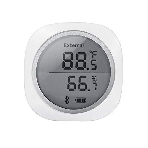 Inkbird IBS-TH1 PLUS Wireless Temperature and Humidity Monitor Thermometer and Hygrometer for Android and iOS Phone Used for Brewing Meat Plant Cigar Storage by Inkbird