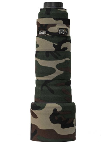LensCoat lcs120300spfg Lenscover for Sigma 120-300 OS S (Forest Green Camo)
