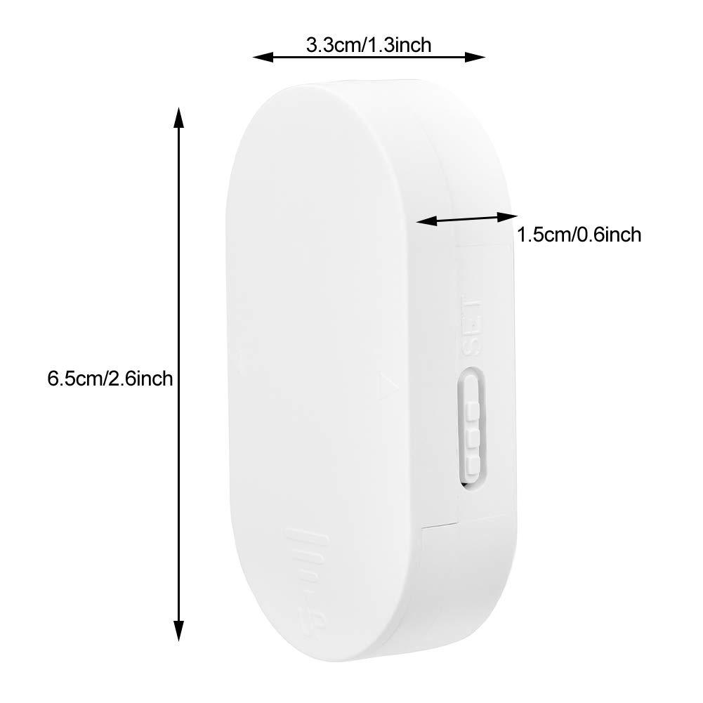130 dB Interruptor multifuncional independiente Anti-interferencia Ventana Puerta Entrada para el hogar Sistema de alarma de seguridad antirrobo Sensor Alarma de puerta