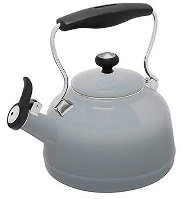 Chantal Vintage Cobalt Blue Steel Enamel Tea Kettle