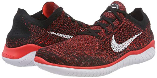 2018 Uomo Running black bright Free Flyknit Scarpe Multicolore Da white Nike Rn Crimson 602 tgqTwwZ