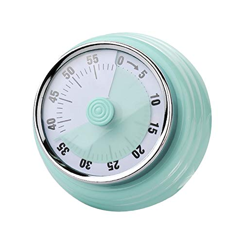 (Trkee Kitchen Mechanical Timer Round Magnetic Countdown for Cooking Housework Sports)