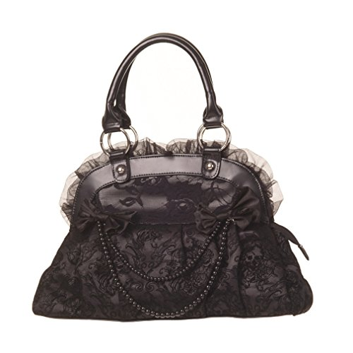 Banned Sac Portés Main - Velvet Bow Reinvention Noir