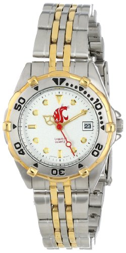 (Washington State Cougars Women's All Star Watch Stainless Steel Bracelet)