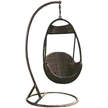 Imatation Bamboo   Rattan Wicker Swing / Trapeze / Hanging Chair / Longue /  Seat