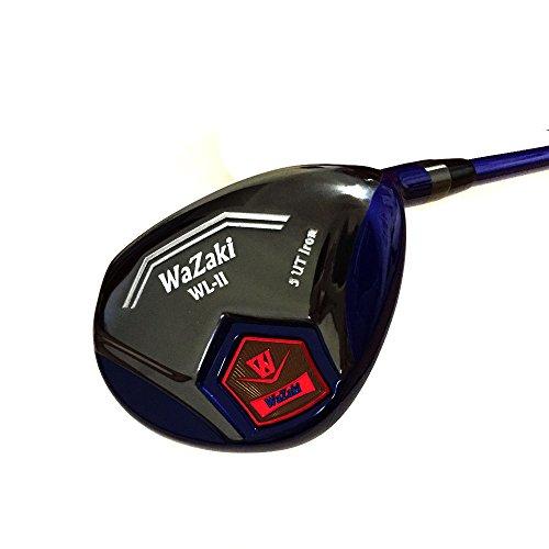 Japan WaZaki Black Finish WL-IIs 4-SW Combo Hybrid Irons USGA R A Rules Golf Club Set + Headcover(pack of 16,Regular Flex) by wazaki (Image #1)