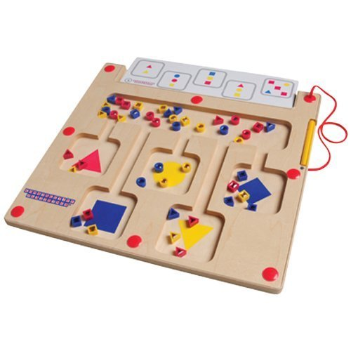 Color & Shape Magnetic Board with Cards by Constructive Playthings