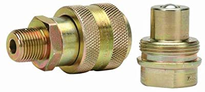 Williams Hydraulics 8RH38D 3/8 Inch National Pipe Taper Fuel High Flow Coupler