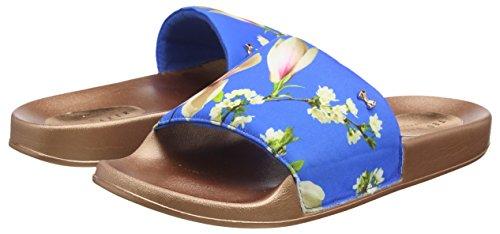 Harmony Femme blue 0000ff Ouvert Avelinn Bout Baker Bleu Ted Sandales 8OHFw
