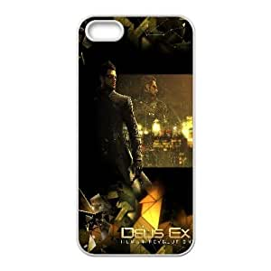 Deus Ex Human Revolution Game5 iPhone 4 4s Cell Phone Case White 218y-883828