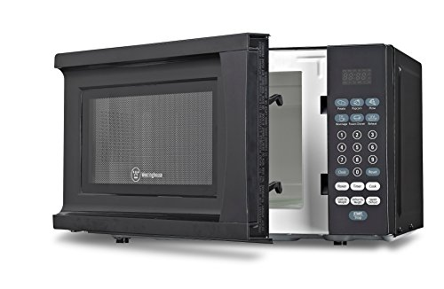 Westinghouse WCM770B 700 Watt Counter Top Microwave Oven, 0.7 Cubic Feet, Black Cabinet (Small Black Microwave Oven compare prices)
