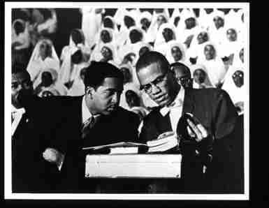 Photo of Black Muslim Leader Malcolm X c1961 by Photographic Archives