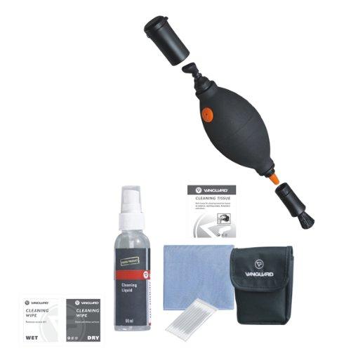 Vanguard CK6N1 - Pack de limpieza de equipos fotográ ficos, negro Vanguard Spain