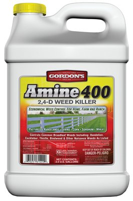 Pbi Gordon 8141122 Amine 400 Weed Killer, 2,4-D, 2.5-Gal. Concentrate - Quantity 2