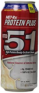 MET-Rx RTD 51 Creamy Vanilla, 15 ounce, 12 count