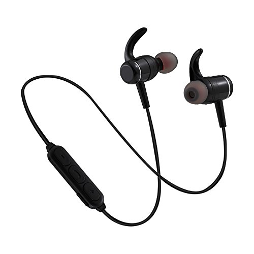 True Wireless-Earbuds Bluetooth 5.0 with Microphone, Sixpipes HD Stereo Sports/Running Waterproof Earphones 8 Hours Playtime Noise-Cancelling Headsets
