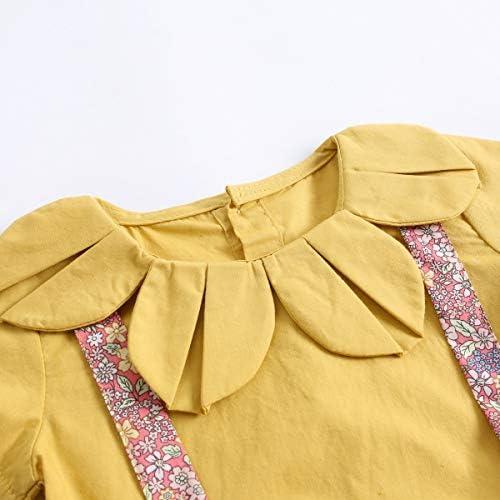 Sanlutoz Reci/én Nacido Beb/é Ni/ña Algod/ón Floral Impreso Linda Verano Mameluco Mono Bodysuit