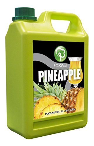 Possmei Flavored Syrup, Pineapple, 5.5 ()