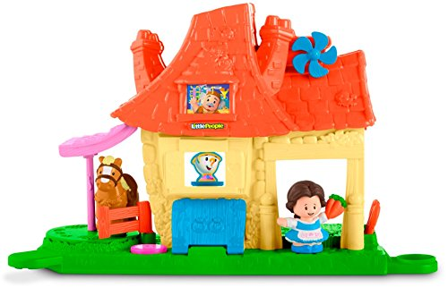 Fisher-Price Little People Disney Princess, Belle's Caring House Playset -