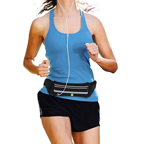 - Running Belt, Fanny Pack For iPhone X 6 7 8 Plus. Runners Pouch. Best Fitness Gear for Hands-Free Workout. Reflective Waist Packs for Gym, Joggers