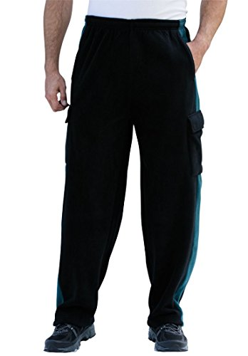 Velour Cargo Pocket Pants - 8