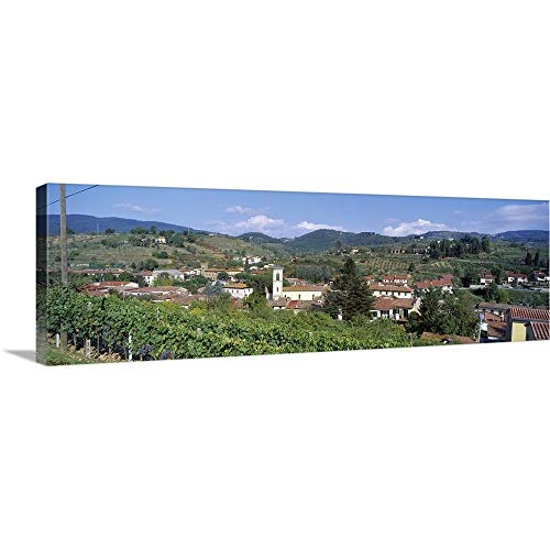GREATBIGCANVAS Gallery-Wrapped Canvas Entitled Greve in Chianti Tuscany Italy by 60