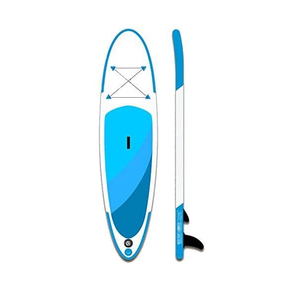 Stand Up Paddel Gonfiabile Adulti Surf All Around gonfiabile Stand Up Paddle Consiglio SUP con albero pala guinzaglio e… 2 spesavip