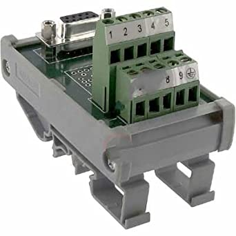 Amazon com: DIN Rail Terminal Blocks Interface Mod SD-F9 Sub
