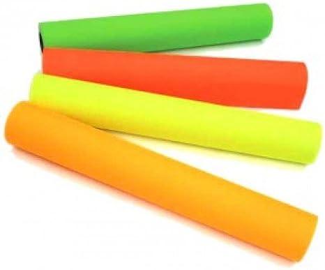 Papel para Plotter Fluorescente 90 gr Rojo 914mm x 100 mt para Hp ...