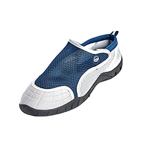 347d29704671 good High Style Men s Aqua Water Shoes - Beach Shoes with Velcro closure