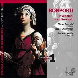 Bonporti; Inventions for Solo Violin, Op.10
