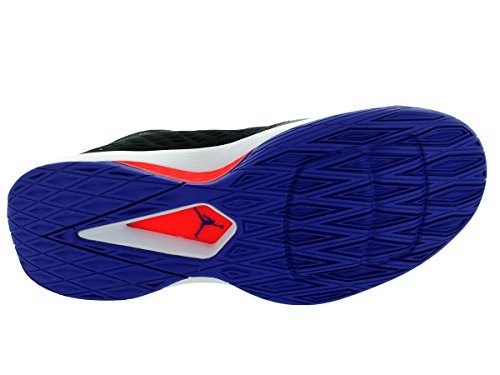 Nike Jordan Rising High, Scarpe da Basket Uomo Nero (Blk/Infrrd 23-brght Cncrd-lsr)