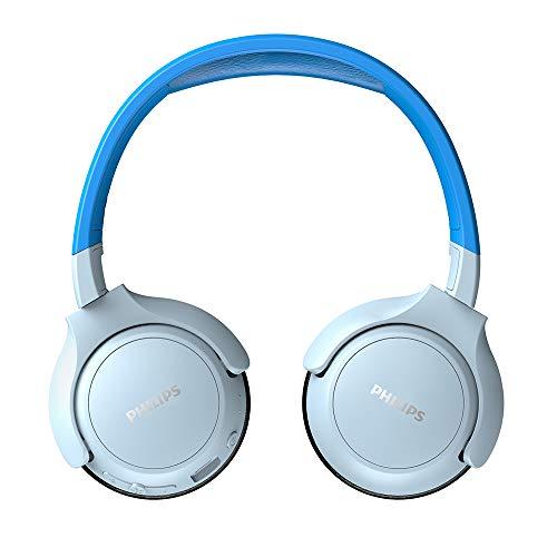Philips Children's Headphones KH402BL/00 Wireless On Ear Headphones (Bluetooth,...