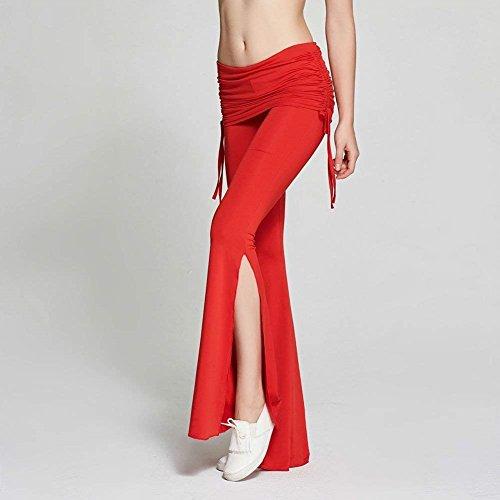 Colpo Casual Autunno Pantaloni Larghi Jogging Chic Monocromo Rot Moda Pantaloni Pantaloni Pantaloni Tempo Primaverile Libero Spacco Eleganti Donna Pantalone Cute zqaxnF15q