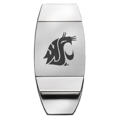 Washington State University - Two-Toned Money Clip - (State University Clip)