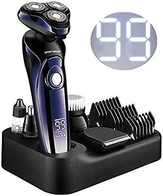 Máquina de afeitar para hombre, 4 en 1 hombres afeitadora ...