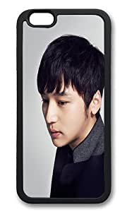 iPhone 6 Back Case - Byun Yo Han Kpop Film Star TPU Bumper Case for iPhone 6 4.7 Inch Black