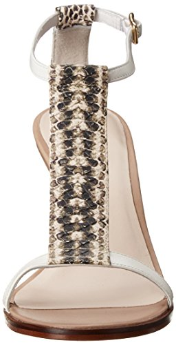 Cole Haan Kvinna Cee Sandal Optisk Vit / Orm Print