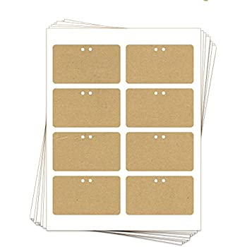 Epic image inside printable cardstock tags