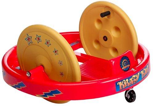 Amloid Krazy Kar Spinning Ride-On Big Wheel Children's Spinning Riding Cart