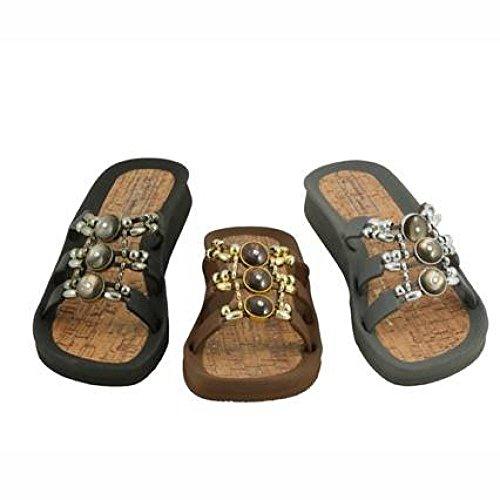 Temporadas Linea Salezapatos Mujer Azul Chania Abierto Baño Llast Scarpa Zapato De 66qXg