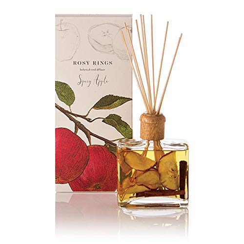 Rosy Rings Botanical Reed Diffuser, Spicy Apple by Rosy Rings