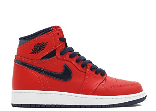 020ee7046d699 SHOPUS | Nike Mens Air Jordan 1 Retro High OG BG Letterman Light ...