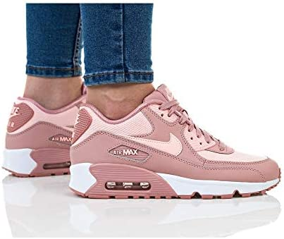 NIKE Women's Air Max 90 Se Mesh (Gs) Competition Running
