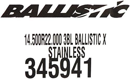 Ballistic XL 345941 14-1//2 X 22 3 Blade RH Propeller