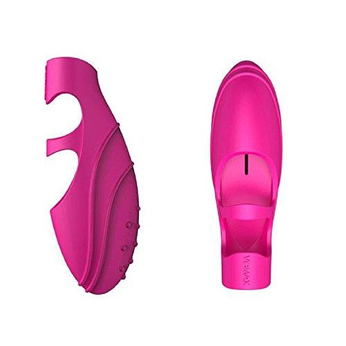 Finger Vibrator, Mosunx G-Spot Vibrating Vibrator Massager Adult Toy (Pink)
