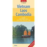 Vietnam - Laos - Cambodia Nelles Map