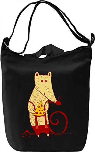 Mouse With Cheese Borsa Giornaliera Canvas Canvas Day Bag  100% Premium Cotton Canvas  DTG Printing 